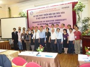 """Thành lập Liên chi hội Nội soi Tiêu hóa Việt nam và Hội thảo:"""" Xu hướng phát triển và họat động nội soi tiêu hóa ở Việt nam và thế giới"""" 1"""