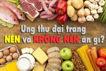 Dinh dưỡng dành cho người bị ung thư đại tràng