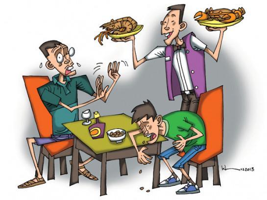 Xứ trí ngộ độc thức ăn tại nhà hiệu quả 1
