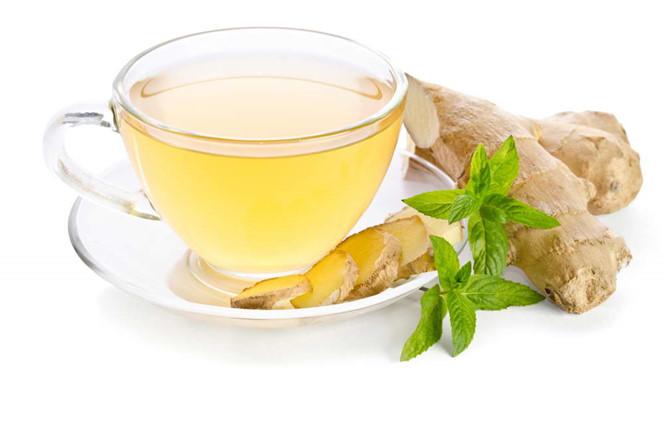 Uống trà gừng giúp giảm đau đại tràng 1